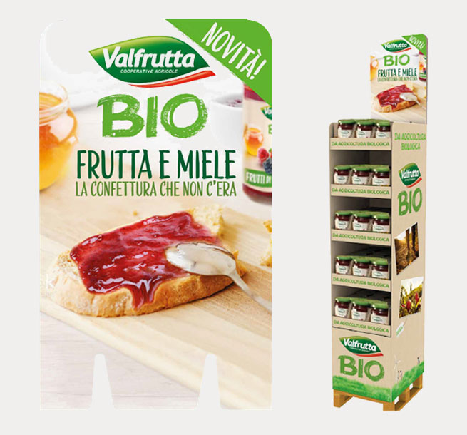 Valfrutta bio packaging