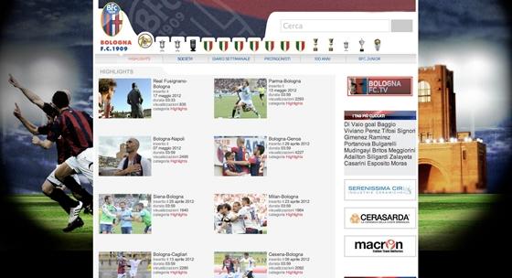 Bologna FC sito