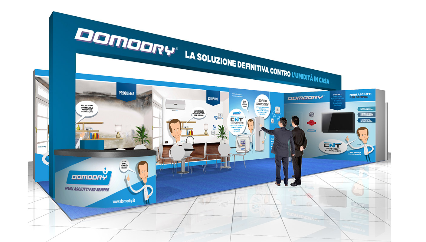 Domodry stand