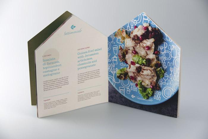 Air Dolomiti menu Perbellini